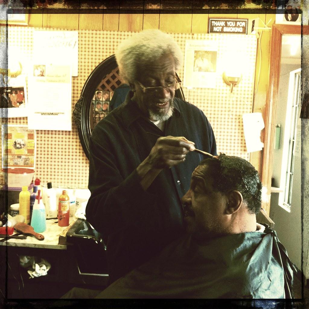 ... At Warren Lewis barber shop Memphis, Tenn. Memphis CVB Flickr