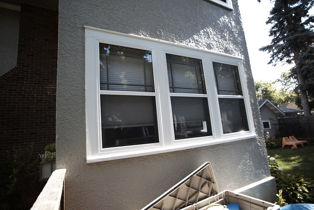 Flush mounted sp aluminum storm windows flickr photo for Aluminum storm windows