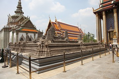 Miniature Angkor Wat in the Grand Palace