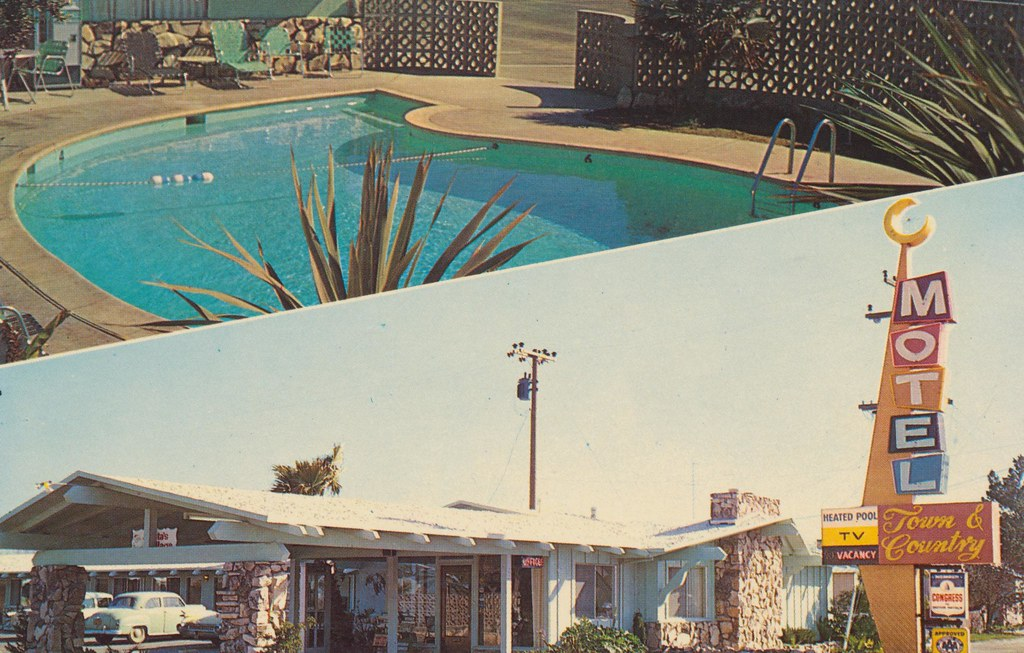 Town and Country Motel - Santa Maria, California