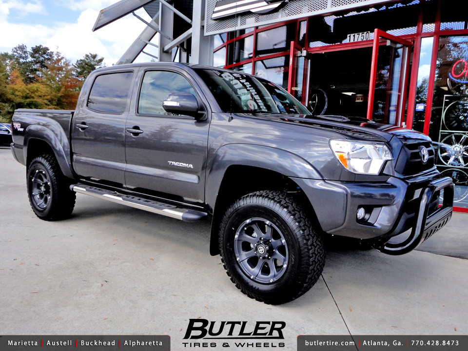 toyota tacoma with 17in atx ledge offroad wheels additiona flickr. Black Bedroom Furniture Sets. Home Design Ideas
