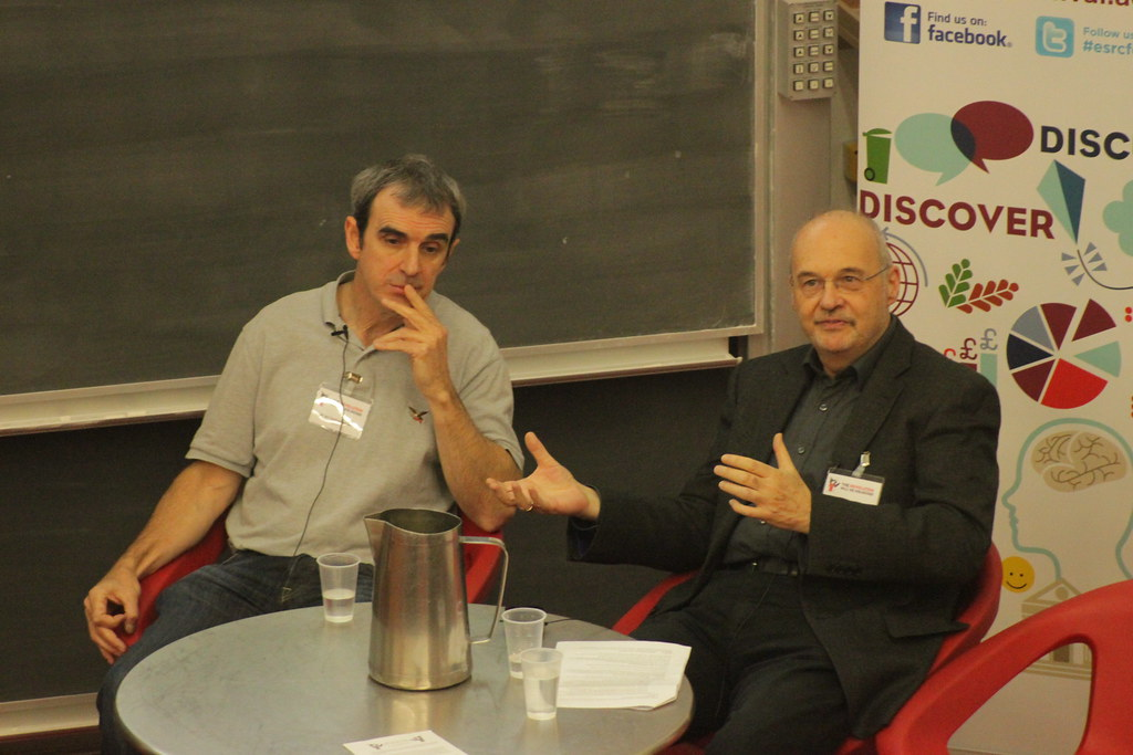 Dr Ian Fotheringham and Prof. David Wield | Flickr - Photo Sharing!