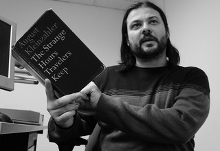 NiallOSullivan reading The Strange Hours Travelers Keep | by Read Me Something You Love