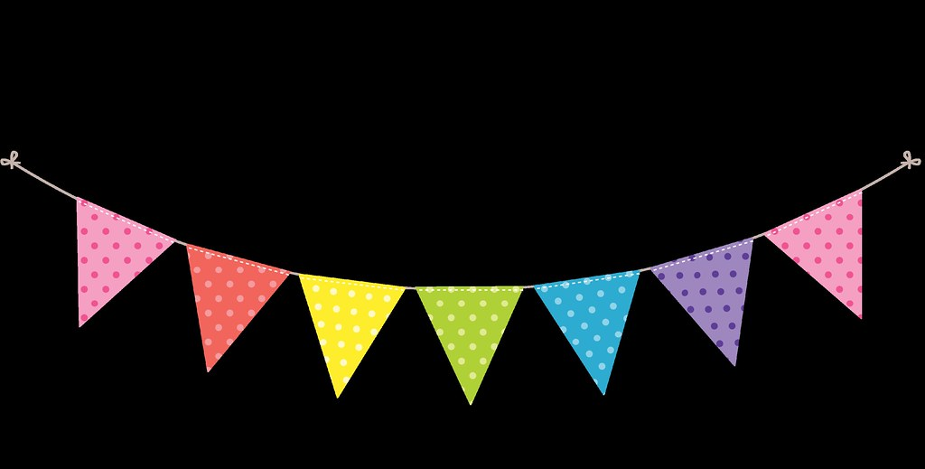Bunting Dots And Stripes Rainbow 5 Ming Flickr