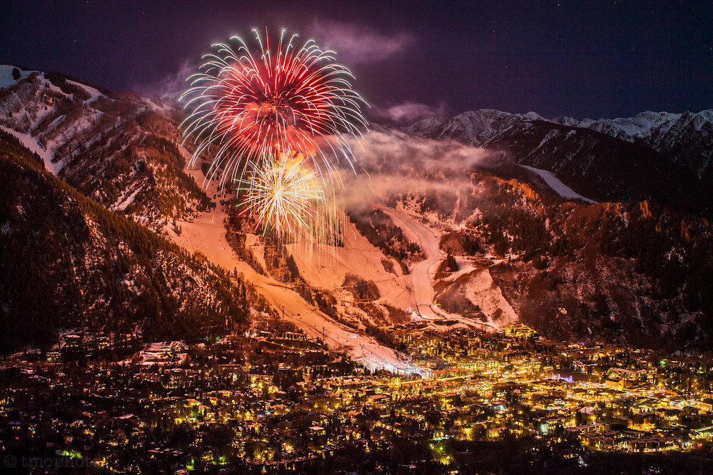 aspen mountain fireworks cinemagraph | my first try at a ...