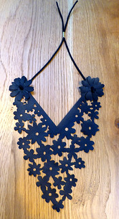 3.12 Laser Cut Leather Bib | by Manchester Craft & Design Centre