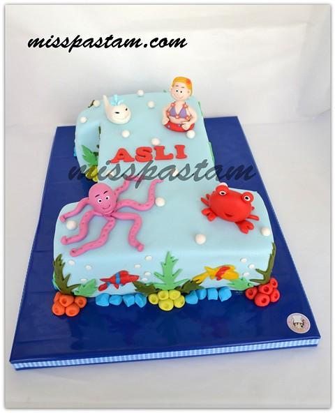 Asl s sea animal cake MSSPASTAM Flickr