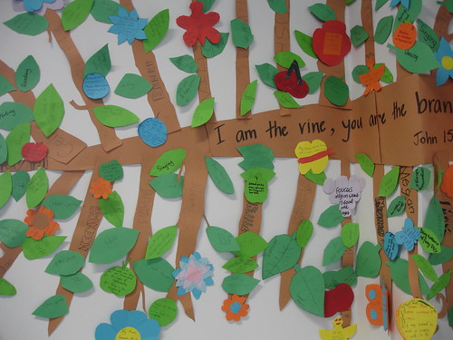 Vine and branches our re activity on the beatitudes www for Vine craft ideas