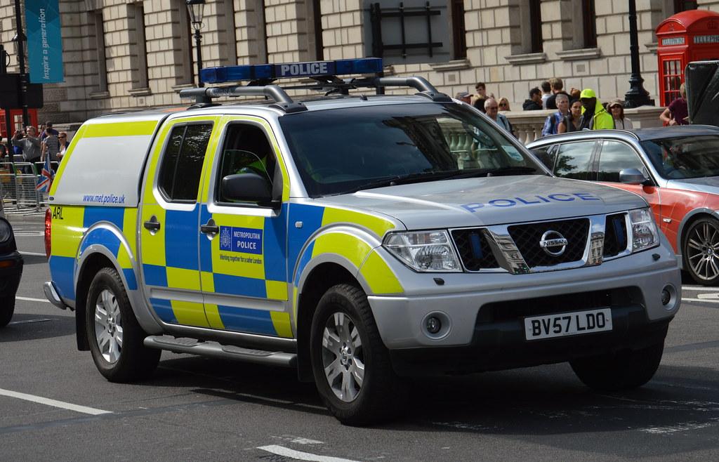 Metropolitan Police Nissan Navara Roads Policing Unit