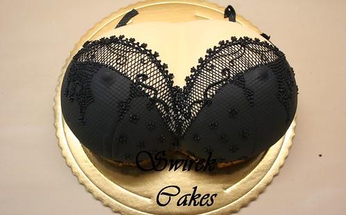 how to make a bra cake