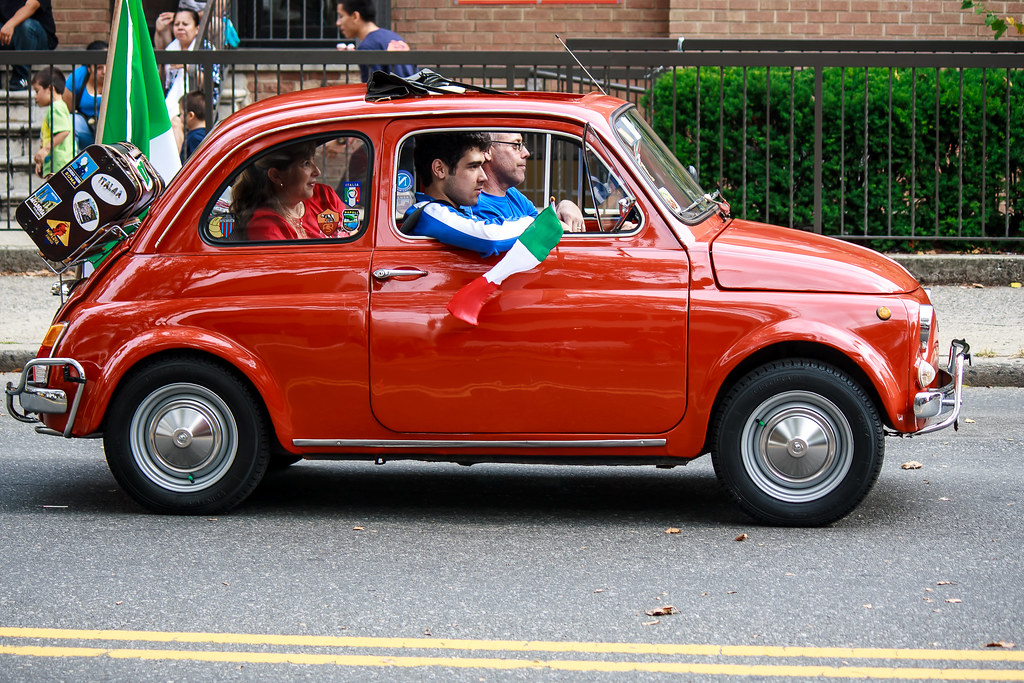 fiat car parade columbus day brooklyn ny bensonhurst flickr. Black Bedroom Furniture Sets. Home Design Ideas