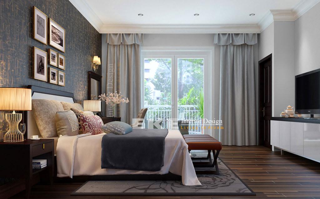 Modern classic style bedroom villa 79 tran quang dieu for Eke interior design