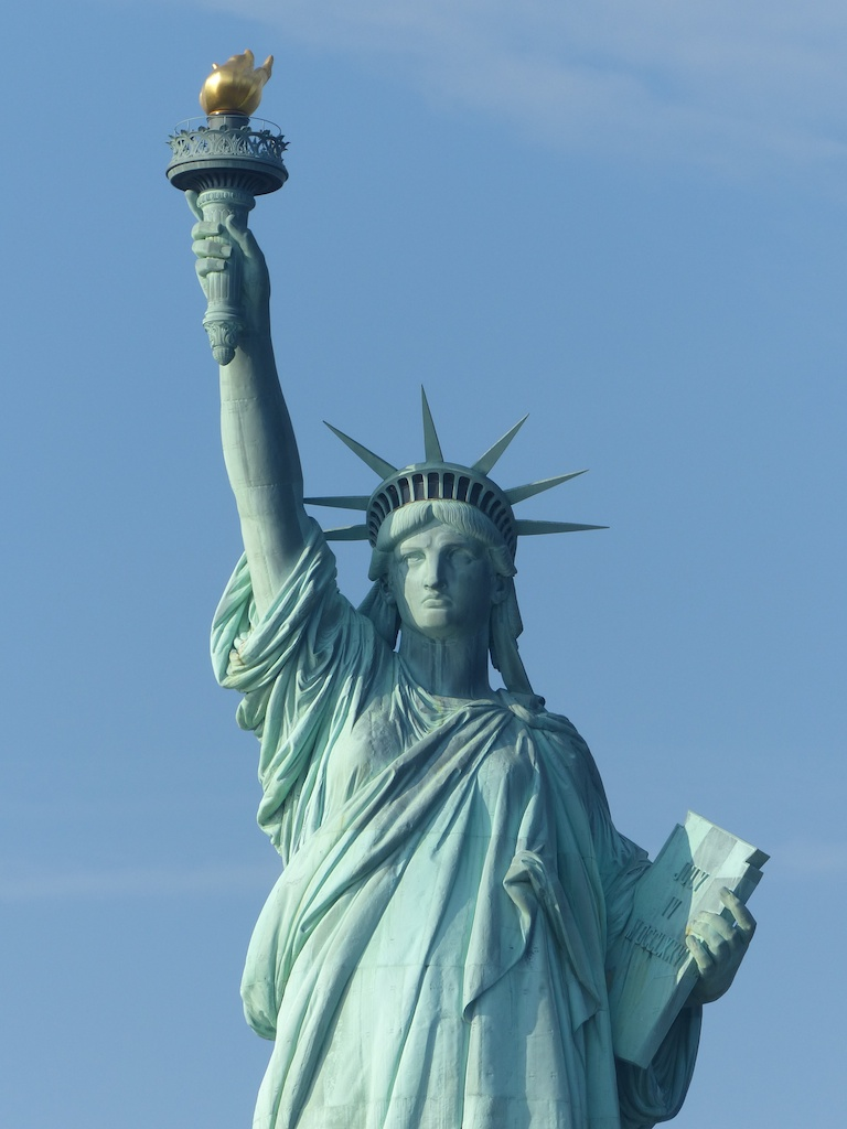 The of statue liberty of pictures