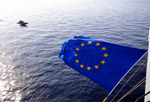 EU Flag | by EU Naval Force Media and Public Information Office