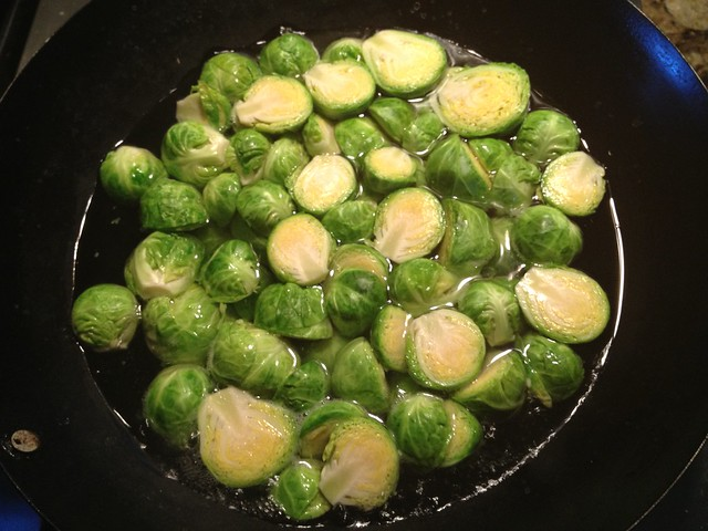 how to cook brussel sprouts in water