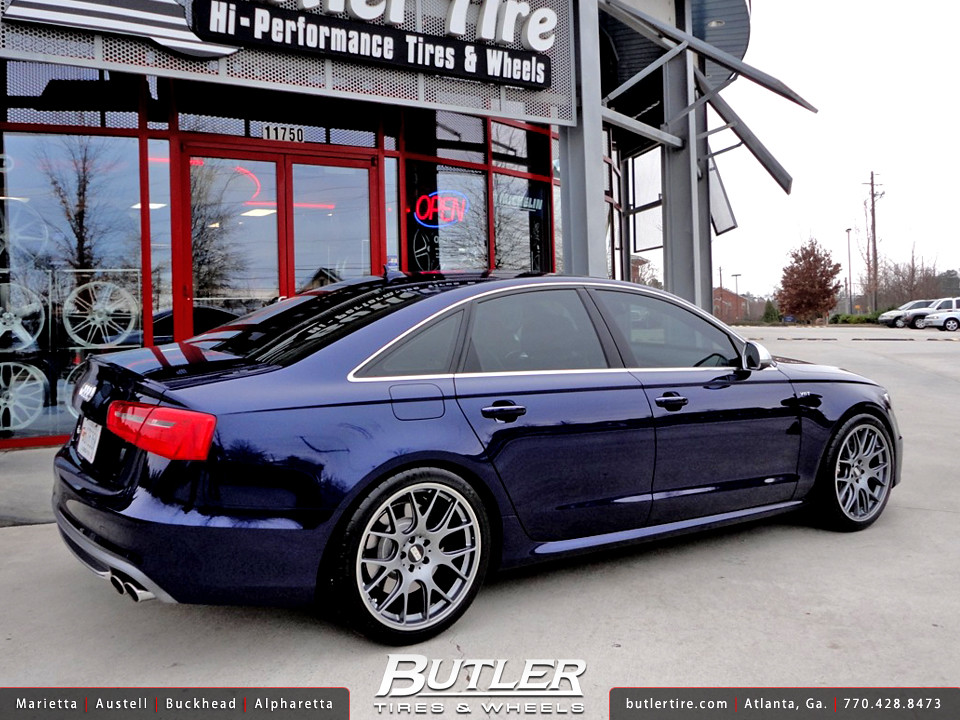audi s6 with 20in bbs ch r wheels additional picture. Black Bedroom Furniture Sets. Home Design Ideas