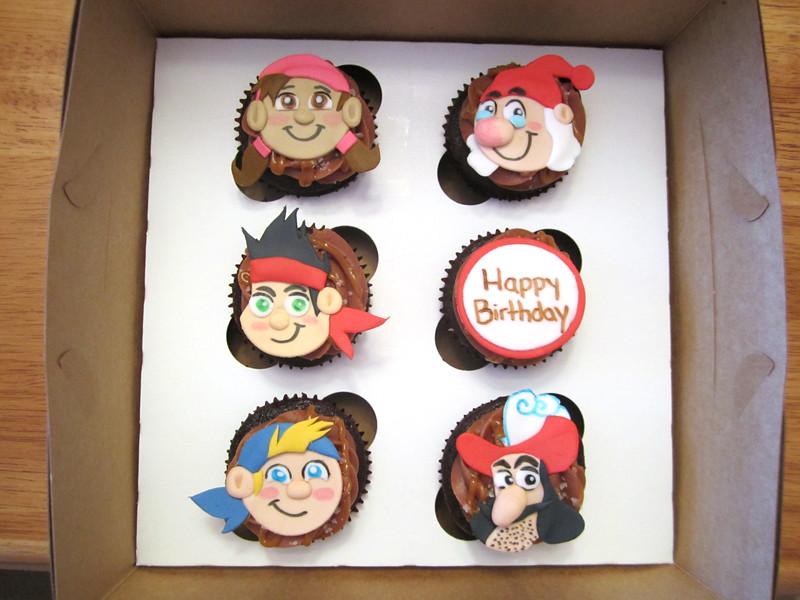 Jake Pirates Birthday Cake