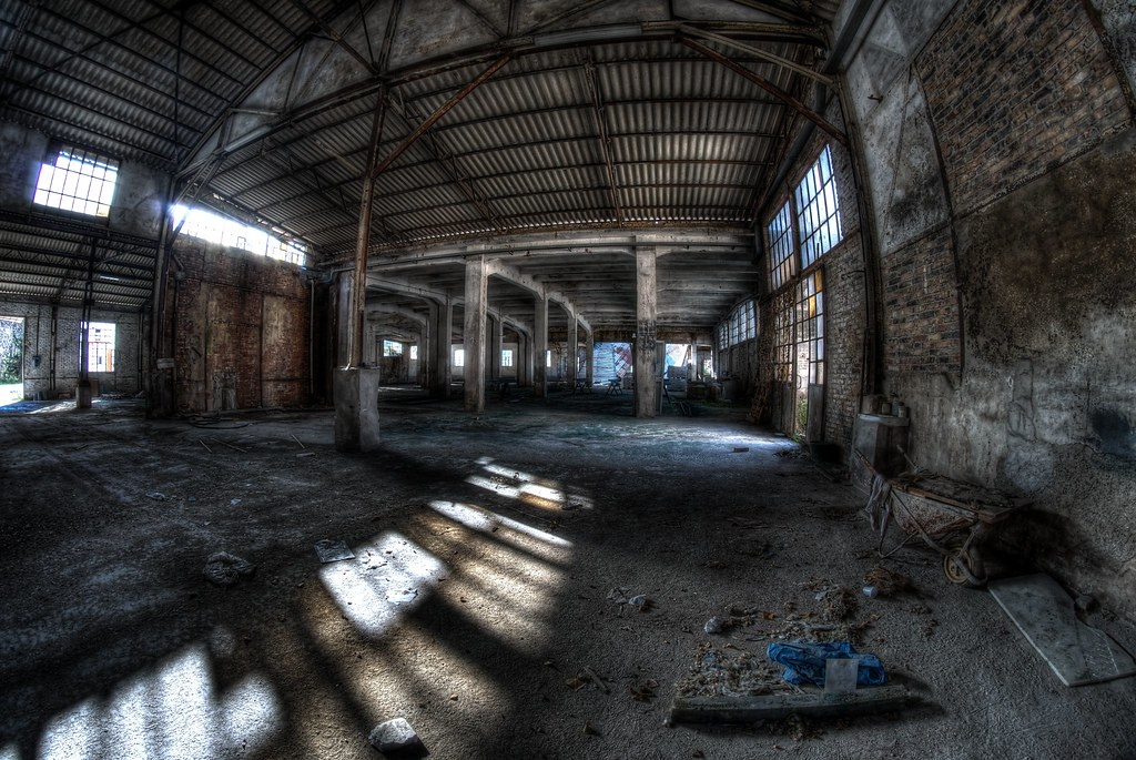 Old abandoned factory | Photo processed with 5 shots Raw ...  Old abandoned f...