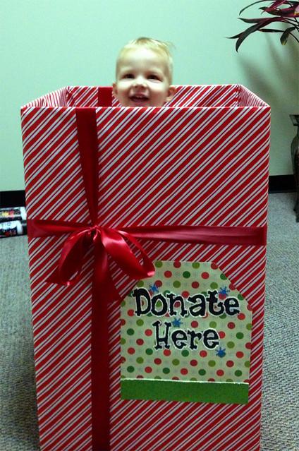 Donation Box Decorating Ideas