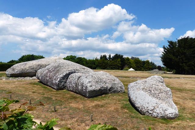 Bretagne 2016 - Locmariaquer - Grand Menhir Brisé - großer, zerbrochener Menhier - Foto: Brigitte Stolle 2016