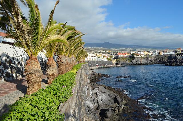 Promenade, Alcala, Tenerife