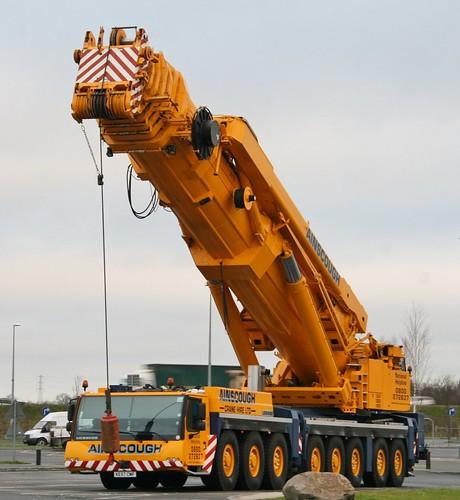 Mobile Crane Machine : Ainscough liebherr ton ltm ke cmf s