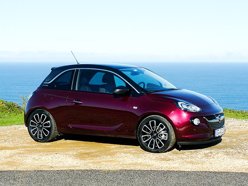 opel adam fahrvorstellung glam berry red metallic blac flickr. Black Bedroom Furniture Sets. Home Design Ideas