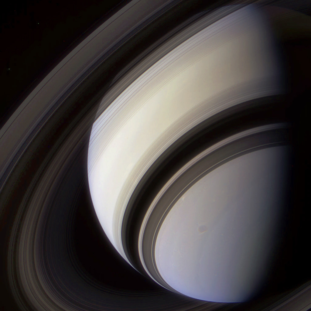 Saturn In Color Color Composite Of Saturn Made From Raw