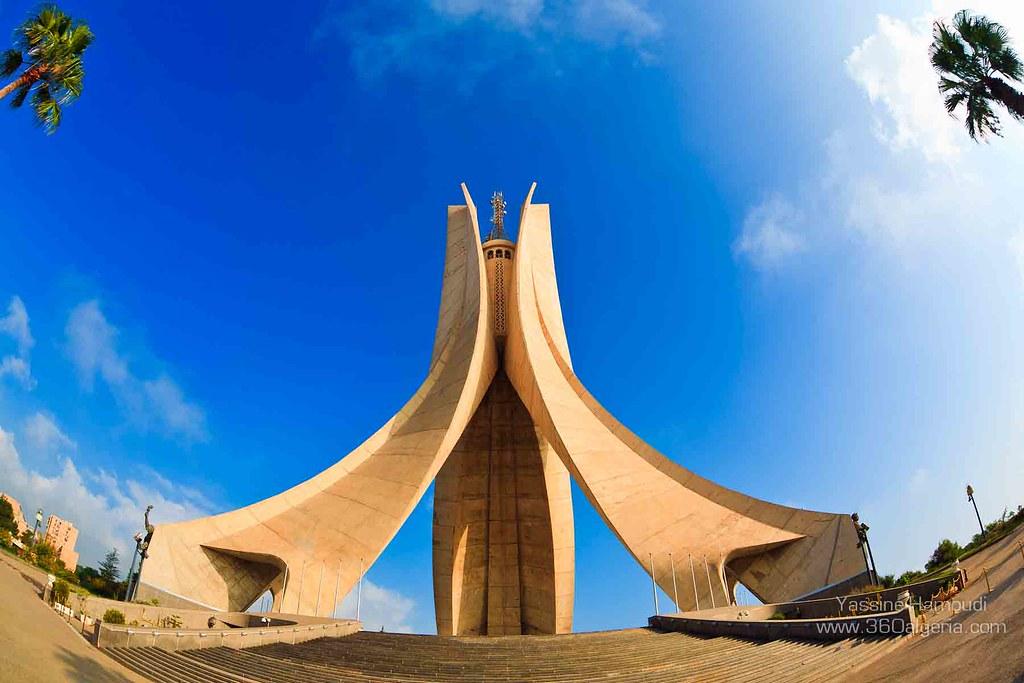 Greetings from The Maqam Echahid, Algeria