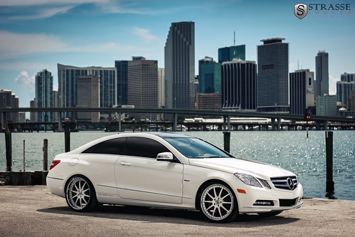 Strasse forged wheels mercedes benz e350 coupe 20 inch for Mercedes benz 20 inch rims