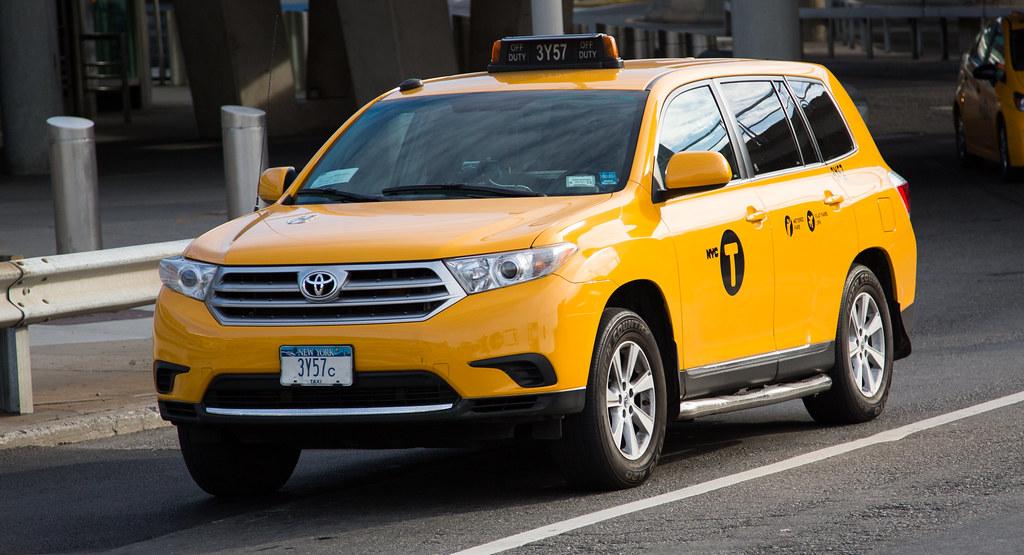 New York City Nyc Taxi Cab Toyota Highlander Tor Flickr