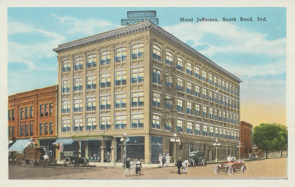 Hotel Jefferson - South Bend, Indiana