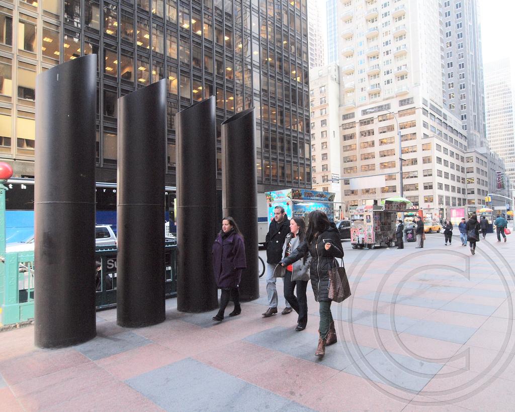 New POPS118 Public Plaza 810 Seventh Avenue Theater District Midtown Manhattan