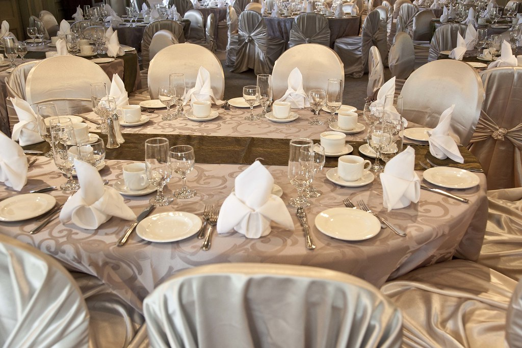 ... Wedding - Table Set-Up | by City of Windsor & Wedding - Table Set-Up | City of Windsor | Flickr