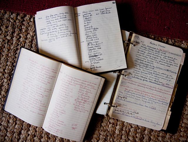 field notebooks