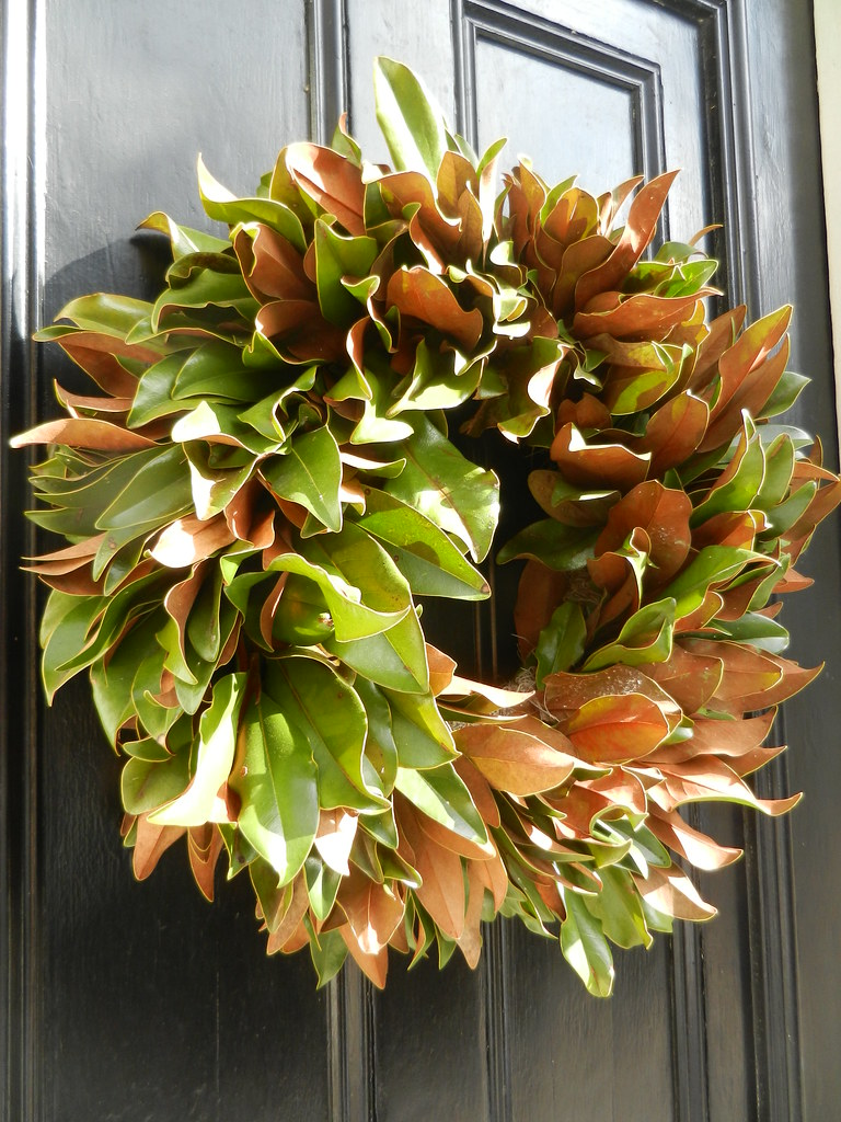Magnolia Christmas Wreath