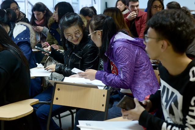 Bienvenida de estudiantes de Harbin, China, 2016