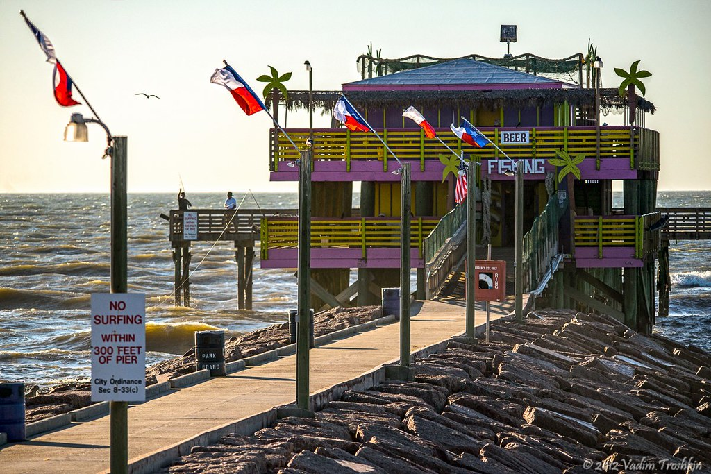 galveston com 61st st fishing pier flickr