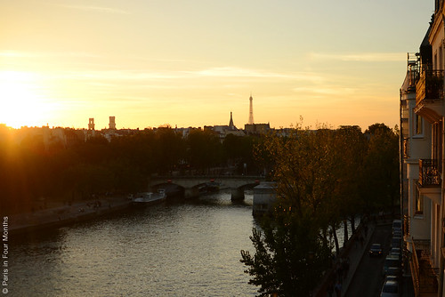 Evening View From the Balcony | by Paris in Four Months
