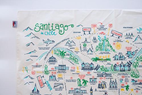 Mapa santiago de chile mapa pa uelo ser dise o ltda for Calles de santiago de chile