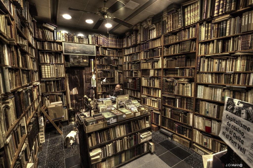 Antigua librer a en barcelona xavi o m flickr - Libreria marcial pons barcelona ...