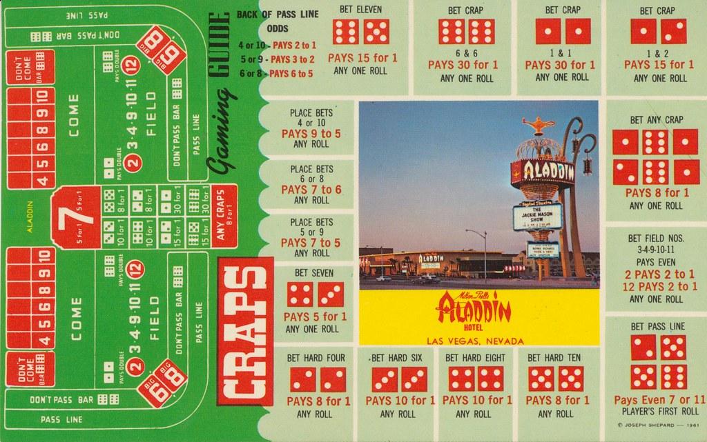 Milton Prell's Aladdin Hotel - Las Vegas, Nevada