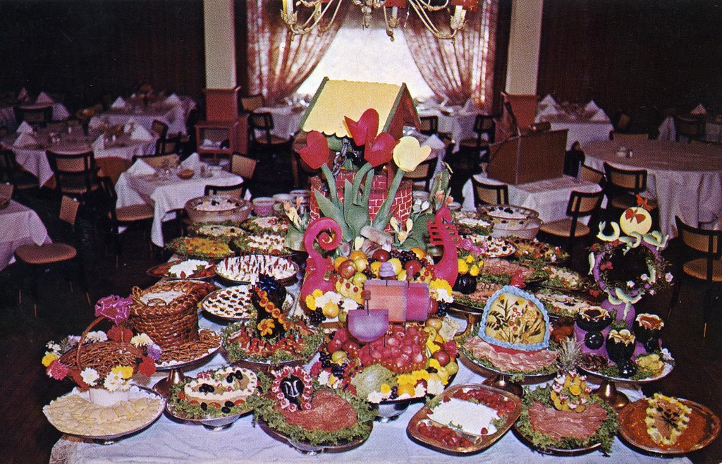 Far Hills Inn Gourmet Buffet Table Somerville NJ Highway N Flickr & Awesome Smorgasbord Table Setting Photos - Best Image Engine ...