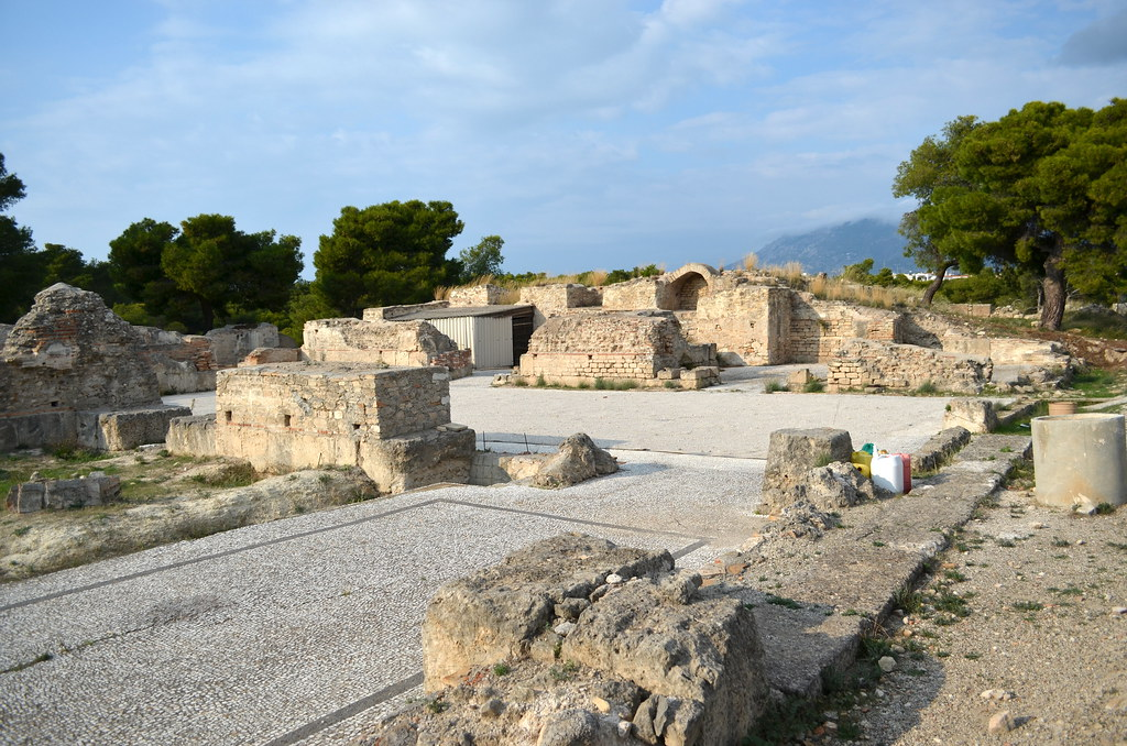 Isthmia Greece  City new picture : Roman bath at Isthmia | Sanctuary of Poseidon at Isthmia, Co ...