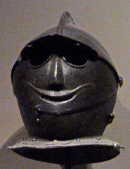 Walters 2012 - Europe - Weapons - Bulletproof Helmet - grin