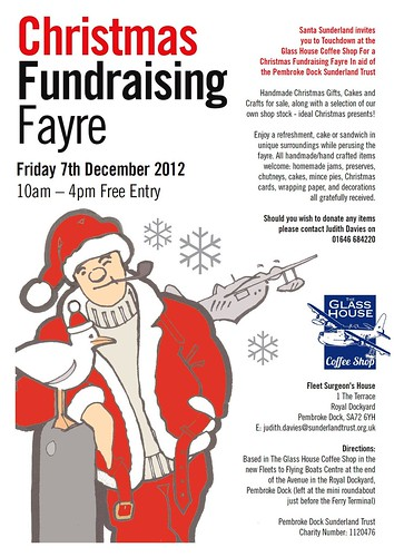 ?Flying Santa  touches down for fayre Santa has donned ...