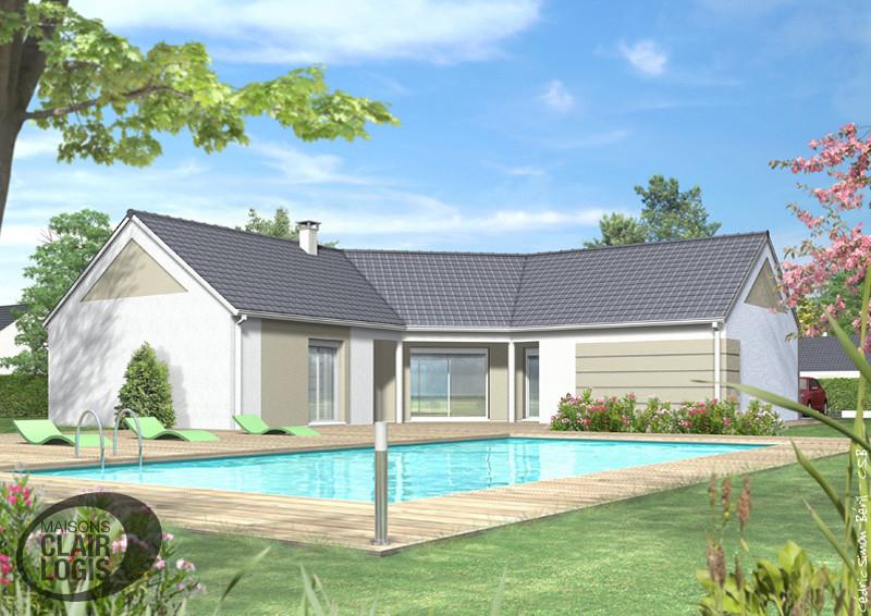maison neuve moderne perfect beautiful dvprojet maison. Black Bedroom Furniture Sets. Home Design Ideas