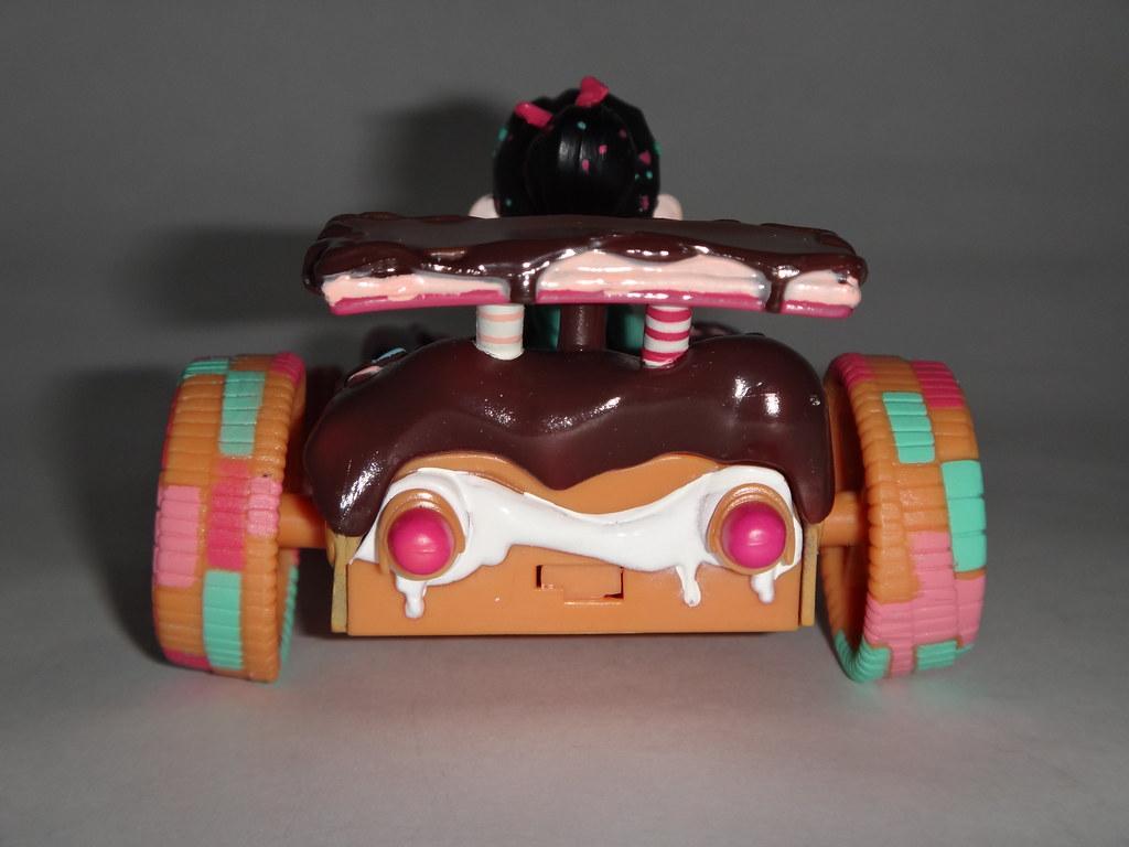 Steering Wheel Shaking >> Vanellope Von Schweetz Racer - Wreck-It Ralph - First Look ...