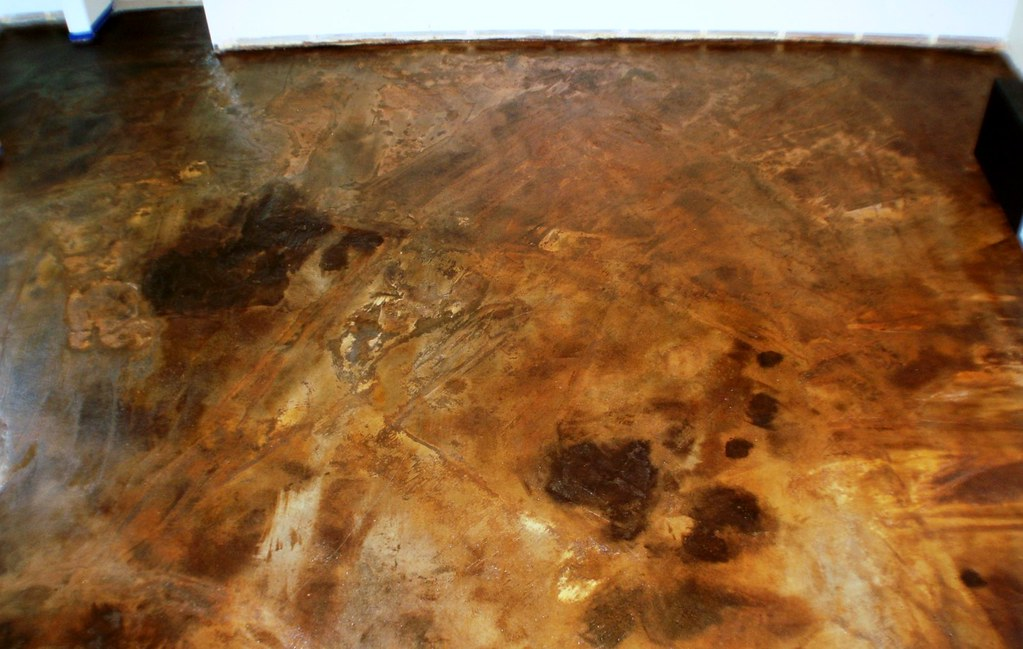 Stained Concrete Floor Texture Textured Concrete Floor