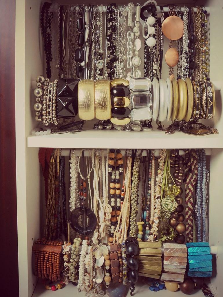 Do It Yourself Jewelry: My DIY (do It Yourself) Accessories Organizer